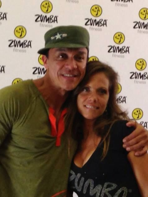 Zumba Creator and friend, Beto Perez<span></span>