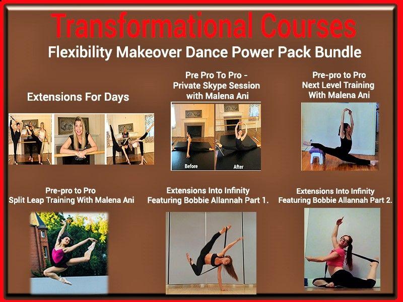Stacey Nemour's Dance! Flexibility Makeover Power Pack
