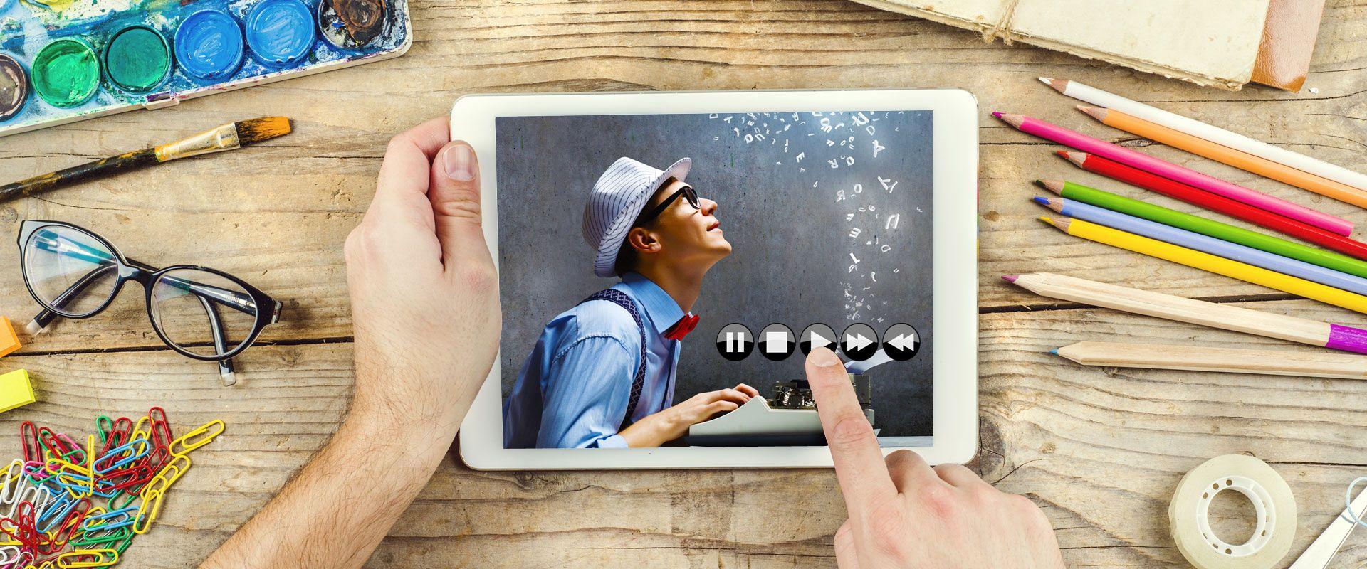 <h1>Apprenez à votre rythme grâce à nos vidéos de formation en ligne</h1><span></span>