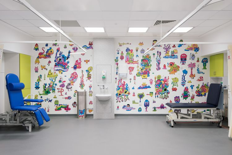 Sheffield Children's Hospital, England<span></span>